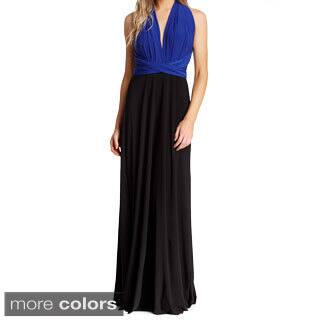 Women's Long Maxi Dress Convertible Wrap Cocktail Gown Bridesmaid Multi Way Dresses One Size Fits 0-12|https://ak1.ostkcdn.com/images/products/9918053/P17075400.jpg?impolicy=medium
