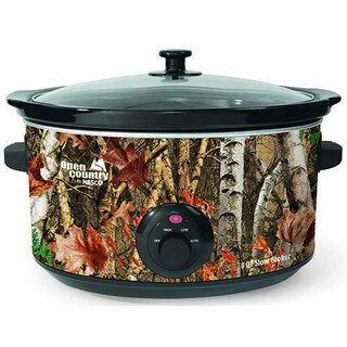 Nesco SC-8017 8-quart Woodland Birch Camouflage Oval Slow Cooker