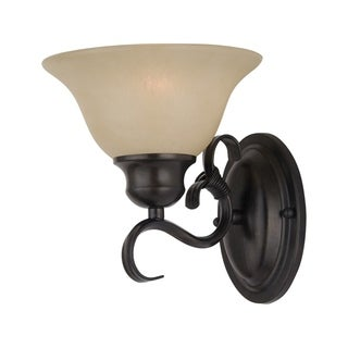 Maxim Pacific Bronze 1-light Wall Sconce
