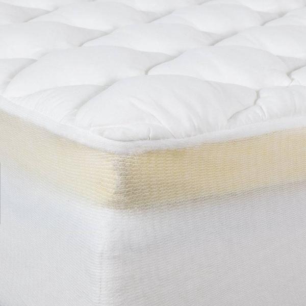 thick mattress pad. Plain Mattress 2Piece Extra Plush Double Thick Mattress Pad And N