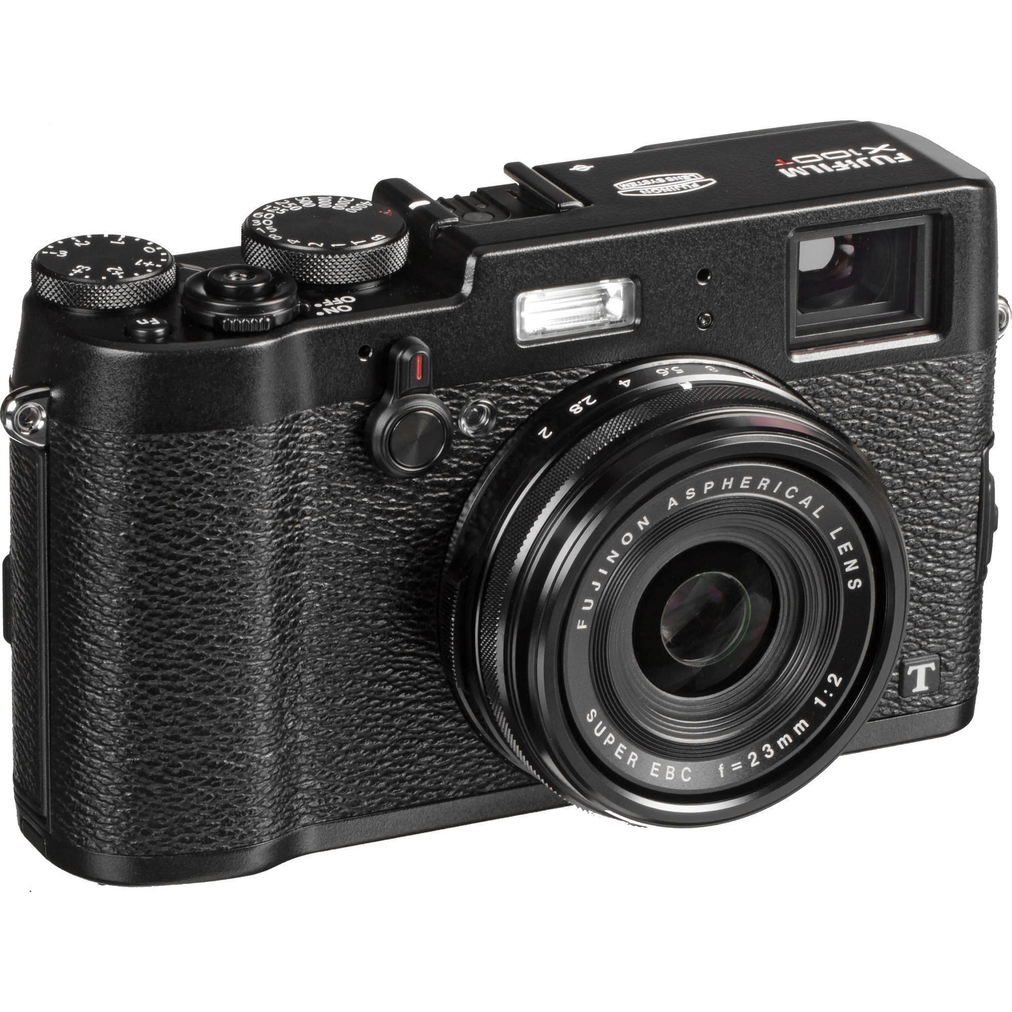 Fuji X100T 16MP Black Digital Camera