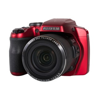 Fujifilm FinePix S9200 16MP Red Digital Camera
