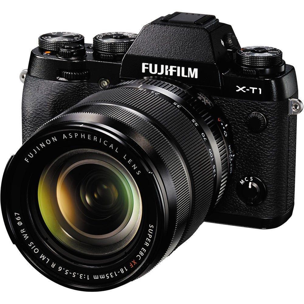 Fuji X-T1 Mirrorless Digital Camera with 18-135mm Lens (F...