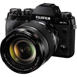 Fujifilm X-T1 Mirrorless Digital Camera with 18-135mm Lens