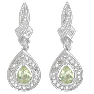 Divina Sterling Silver 17/50ct TDW Diamond Fashion Earrings (H-I, I2-I3)
