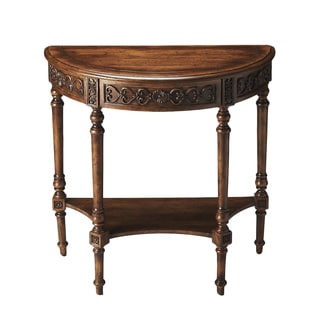 Hand-painted Dark Toffee Console Table (China)