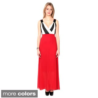 Nancy Yang Fashion Maxi Stylish Chiffon Dress