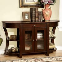 Furniture of America Roland Dark Cherry Entryway Table