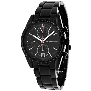 Michael Kors Men's MK8386 Accelerator Round Black Bracelet Watch
