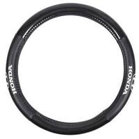 Honda Odorless Universal Black Steering Wheel Cover
