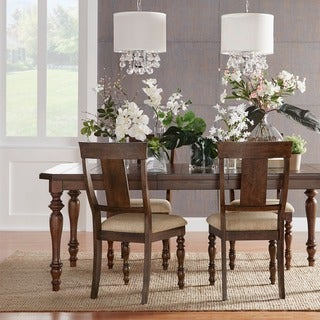 Cordelia Traditional Chestnut 7-piece Extending Dining Set