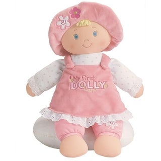 Gund Blonde My First Dolly Stuffed Doll