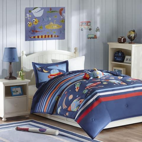 Mi Zone Kids Space Ranger Blue Comforter Set