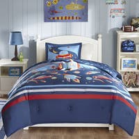 Mi Zone Kids Space Ranger Blue Comforter Set