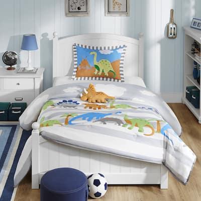 Mi Zone Kids Daring Dino Multi Comforter Set