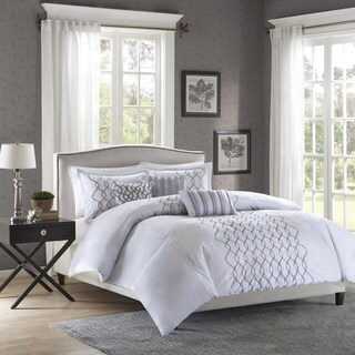Madison Park Lillian 6-Piece Duvet Cover Set (2 options available)