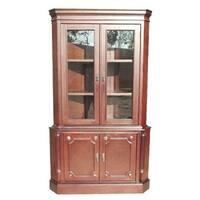 Handmade D-Art Two Door Corner Cabinet (Indonesia)
