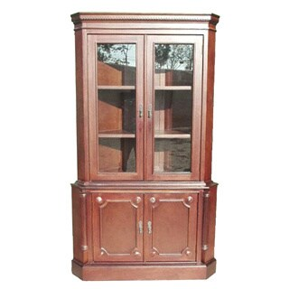 Handmade D-Art Two Door Corner Cabinet (Indonesia)