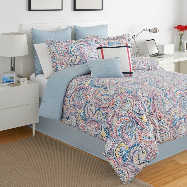 Shop Izod Winward Paisley 4 Piece Comforter Set Free