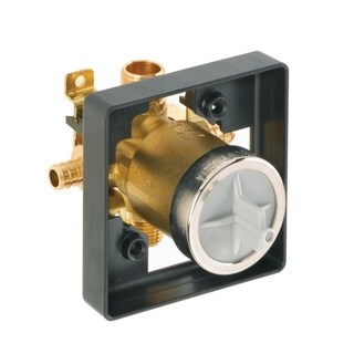 Delta MultiChoice Universal High-Flow Shower Rough - Universal Inlets / Outlets R10000-UNBXHF