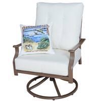 Panama Jack Swivel Lounge Chair with Cushion