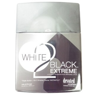 White 2 Black Extreme Advance 8.5-ounce Black Bronzer