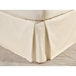 Crowning Touch by Welspun Cotton Naturals Bedskirt