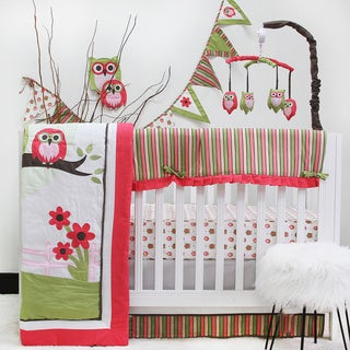 Link to Pam Grace Creations Sweet Dream Owl 10-piece Crib Bedding Set Similar Items in Bedding Sets