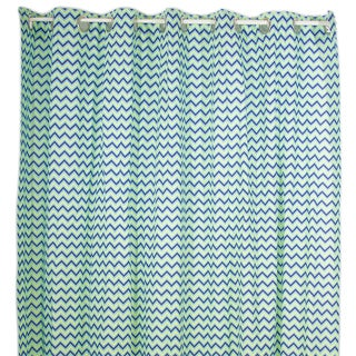 Pam Grace Creations Chevron Shower Curtain