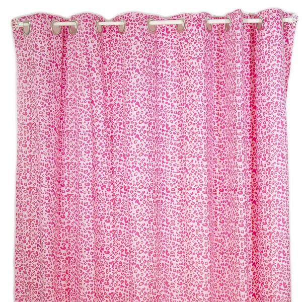 Shop Pam Grace Creations Tabby Cheetah Shower Curtain