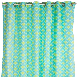 Pam Grace Creations Aqua Shower Curtain