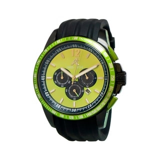 Adee Kaye Men's Terrace Collection Green Watch