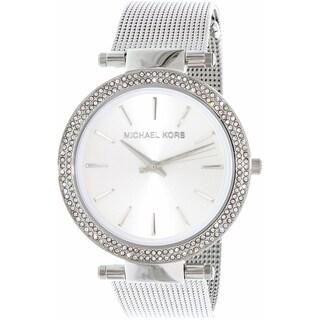 Michael Kors Women's MK3367 Darci Round Silver Bracelet Watch