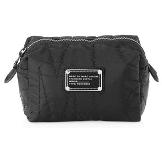Marc By Marc Jacobs Pretty Nylon Small Black Cosmetic Case