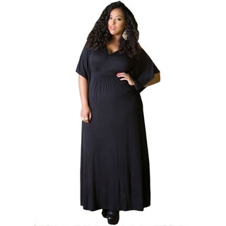 Sealed with a Kiss Women's Plus Size 'Joan' Maxi Dress