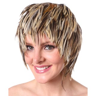 Hackle Rooster Feather Wig