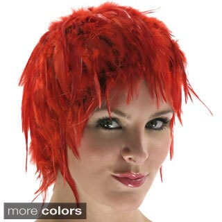 Colorful Dyed Hackle Rooster Feather Wig (More options available)