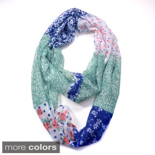 Dasein Floral Patchwork Pattern Infinity Scarf https://ak1.ostkcdn.com/images/products/9920855/P17078253.jpg?impolicy=medium