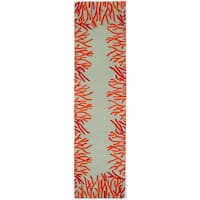 Reef Border Outdoor Rug (2'X8')