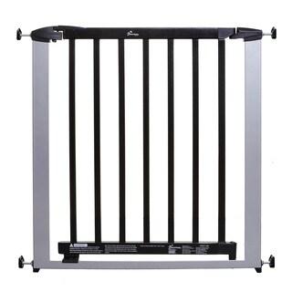 Dreambaby Windsor Auto Close Steel Black/Silvertone Gate