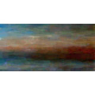 Parvez Taj 'Abstract Landscape' Canvas Print Art