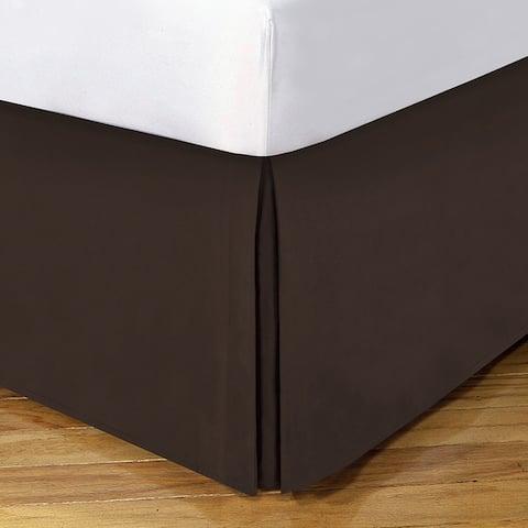 Lux Hotel 14-inch Drop Bedskirt