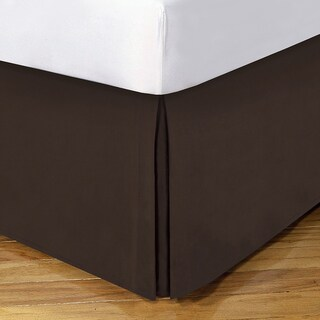 Lux Hotel 14-inch Drop Bedskirt (More options available)