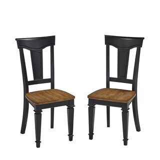 Americana Dining Chair Pair by Home Styles
