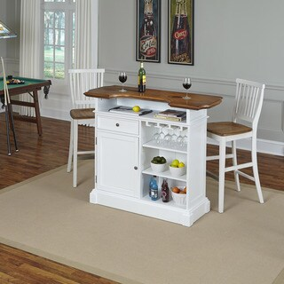 Americana Bar and Two Stools by Home Styles (3 options available)