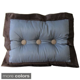 Annabella Button Tufted Throw Pillow