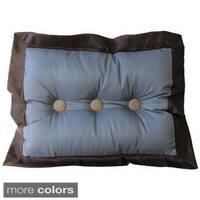 Annabella Button Tufted Throw Pillow