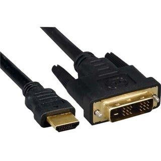 Unirise HDMI Male to DVI-D 12+1 M-M Cable