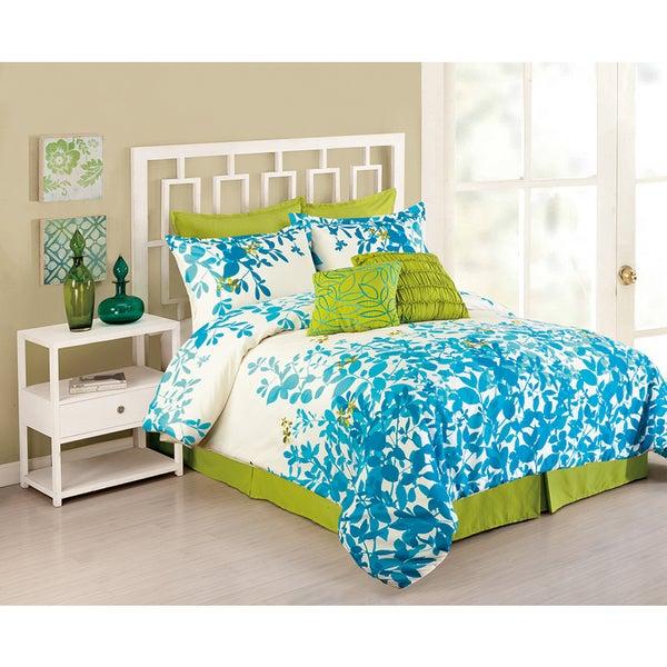 Peking Handicraft Flourish 8-piece Comforter Set
