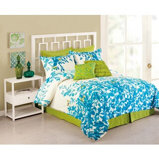 Peking Handicraft Flourish 8-piece Comforter Set